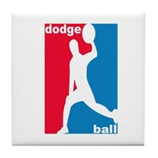 Dodgeball Association Tile Coaster
