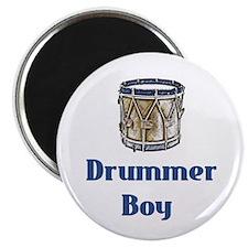 """Drummer Boy 2.25"""" Magnet (10 pack)"""