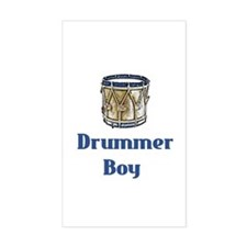 Drummer Boy Rectangle Decal