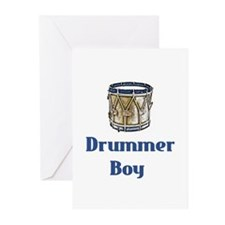 Drummer Boy Greeting Cards (Pk of 10)