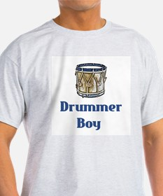 Drummer Boy Ash Grey T-Shirt