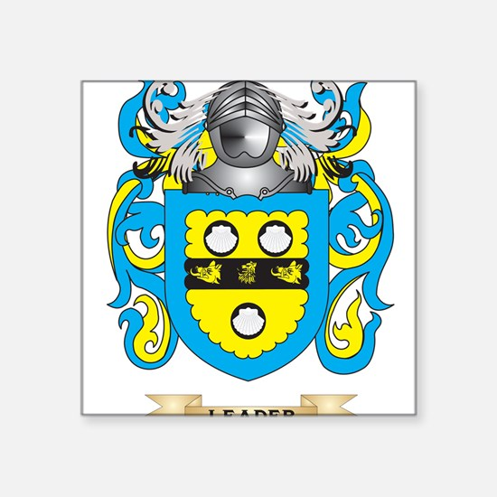 Leader Coat of Arms - Family Crest Sticker