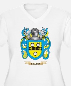 Leader Coat of Arms - Family Crest Plus Size T-Shi