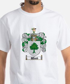 Wood Coat of Arms Family Crest Shirt