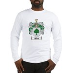 Wood Coat of Arms Family Crest Long Sleeve T-Shirt