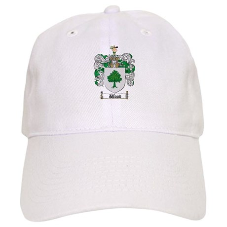 Wood Coat of Arms Family Crest Cap