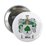 Wood Coat of Arms Family Crest Button