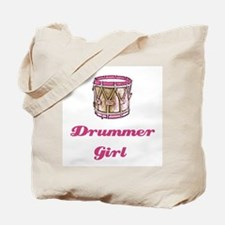 Drummer Girl Tote Bag