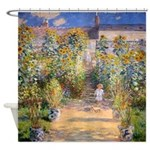 Artists Garden Shower Curtain