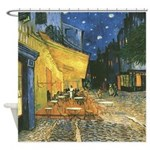 Arles at Night Shower Curtain