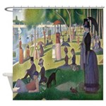 La Grande Jatte Shower Curtain