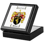 Wilson Coat of Arms Family Crest Keepsake Box