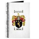 Wilson Coat of Arms Family Crest Journal