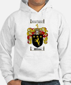 Wilson Coat of Arms Family Crest Hoodie