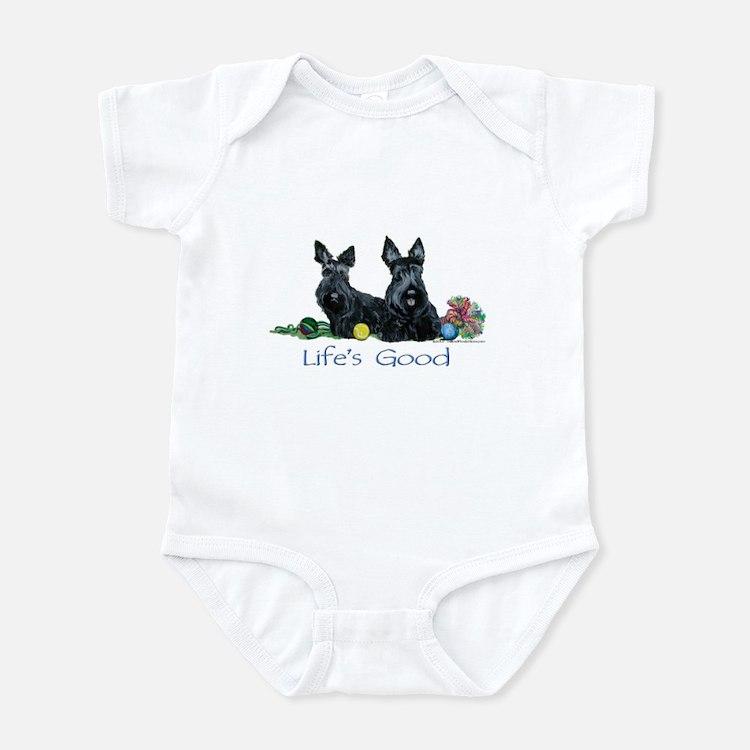 Scottish Terrier Life! Infant Bodysuit