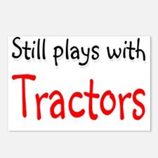 tractors Postcards (Package of 8)