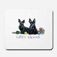 Scottish Terrier Life! Mousepad