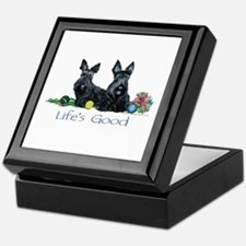 Scottish Terrier Life! Keepsake Box