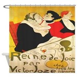 Reine de Joie Shower Curtain