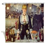 Bar at Folies Bergere Shower Curtain