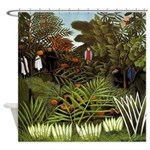 Exotic Landscape Shower Curtain