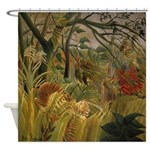 Storm in the Jungle Shower Curtain