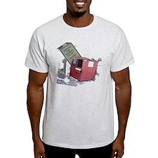 dumpster-black T-Shirt