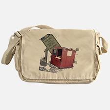 dumpster-black Messenger Bag