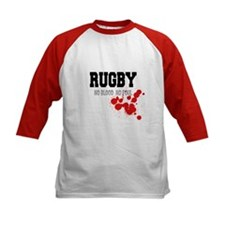 No Blood No Foul Rugby Tee