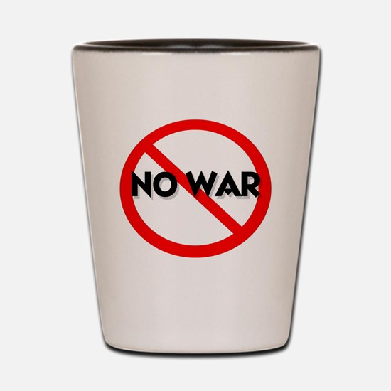 nowar Shot Glass