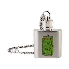 pimpjuice-black Flask Necklace