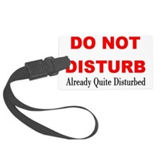 disturb Luggage Tag