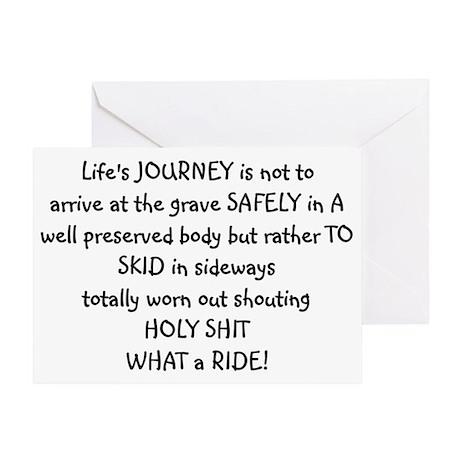 lifes Greeting Card