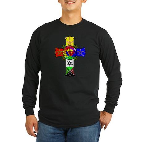 rosecross-lamen Long Sleeve T-Shirt