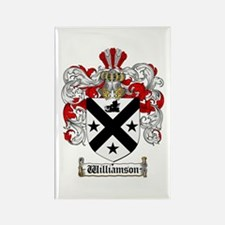 Williamson Coat of Arms Crest Rectangle Magnet
