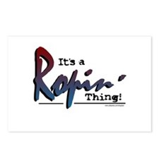It's a Ropin' Thing! Postcards (Package of 8)