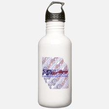 POWRcR Background Water Bottle