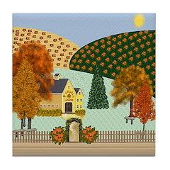 Pumpkin Hollow Tile Coaster