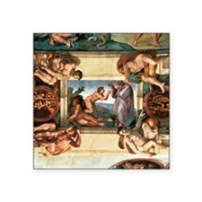 """creation of eve Square Sticker 3"""" x 3"""""""