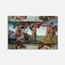 fall of man Rectangle Magnet