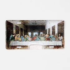 Leonardo_da_Vinci_(1452-151 Aluminum License Plate