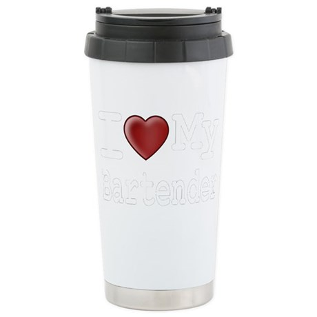 bartender-black Stainless Steel Travel Mug
