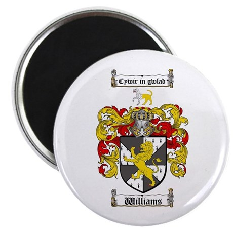 Williams Coat of Arms Family Crest Magnet