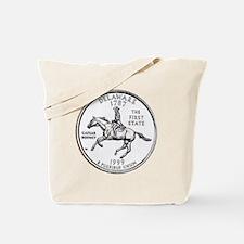 delaware-black Tote Bag