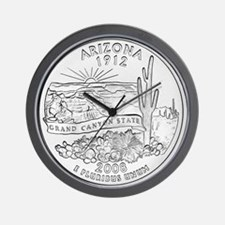 arizona-black Wall Clock