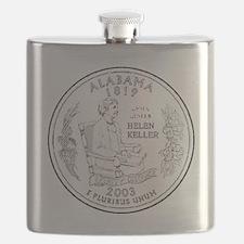 alabama-black Flask