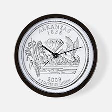 arkansas-black Wall Clock
