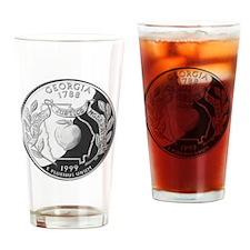 georgia-black Drinking Glass
