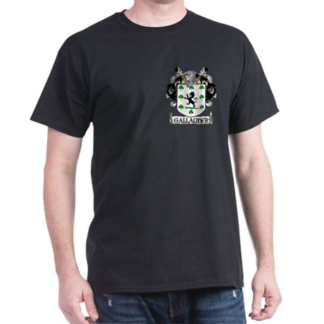 Gallagher Coat of Arms Dark T-Shirt