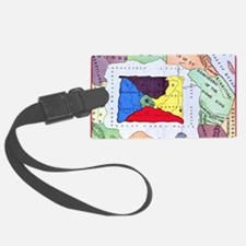 map of oz Luggage Tag